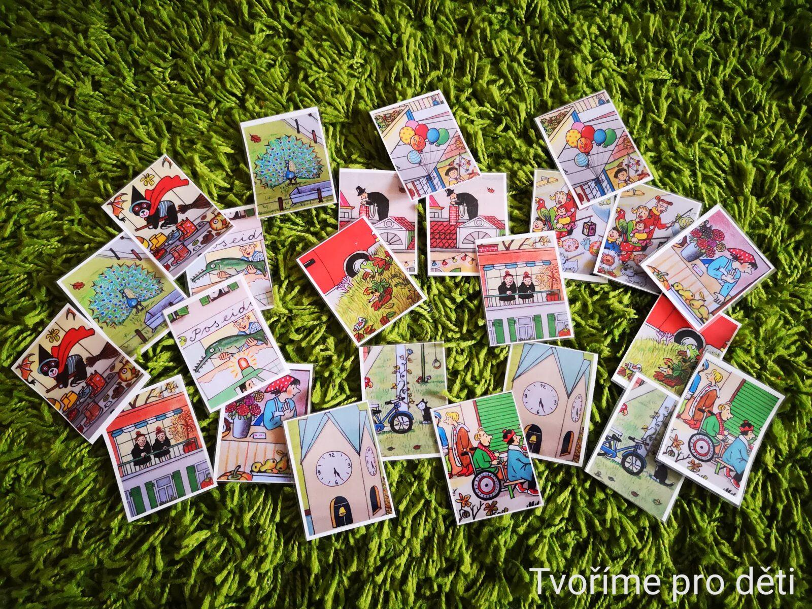 Karty na motivy knihy Podzim