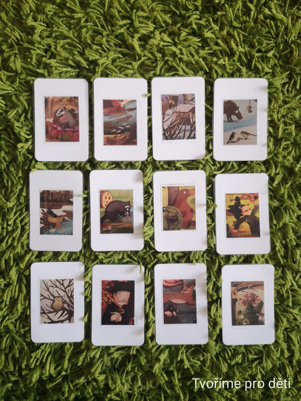 Hrací karty: Rok v lese