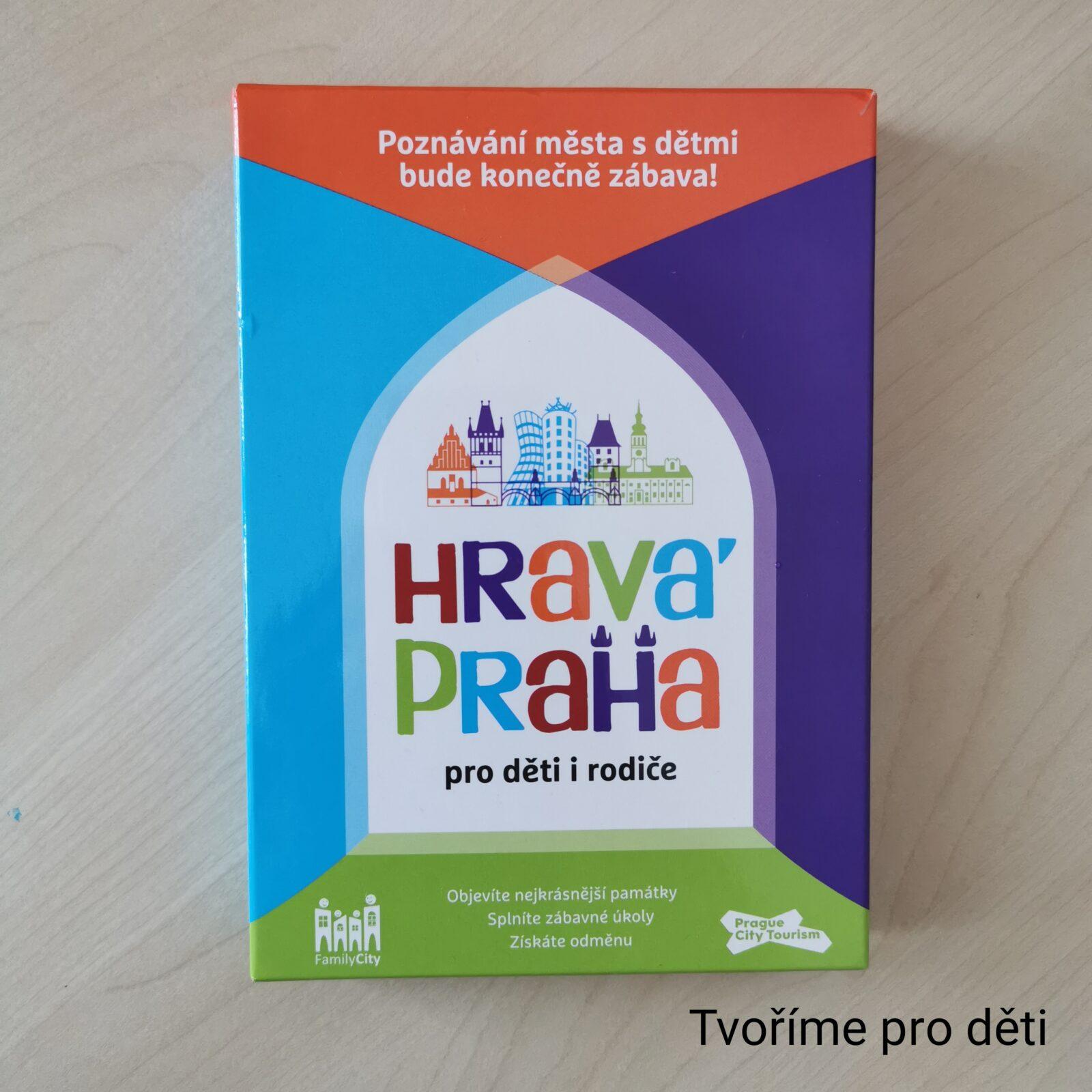 Pracovní listy Hravá Praha