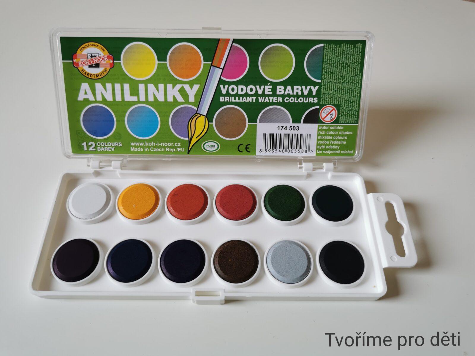Anilinky: syté vodové barvy