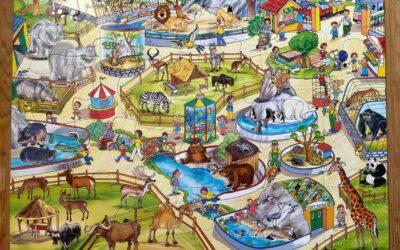 Big puzzle ZOO