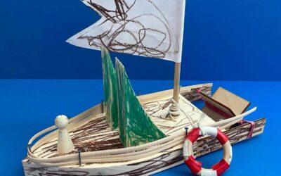 Dřevěná loďka Woodmaid