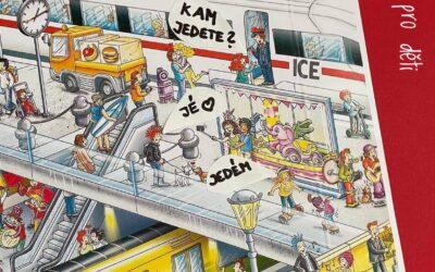 Komiks z velkoformátového leporela