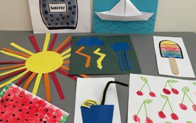 10 nápadů na letní tvoření s dětmi