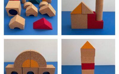 Korková stavebnice elou