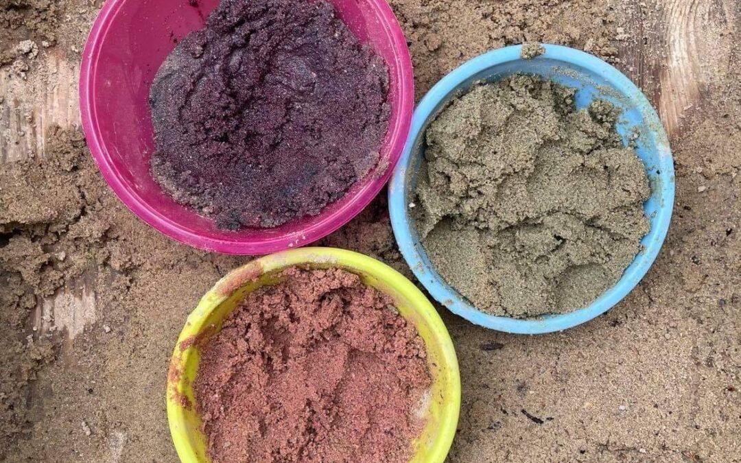 Barevný písek