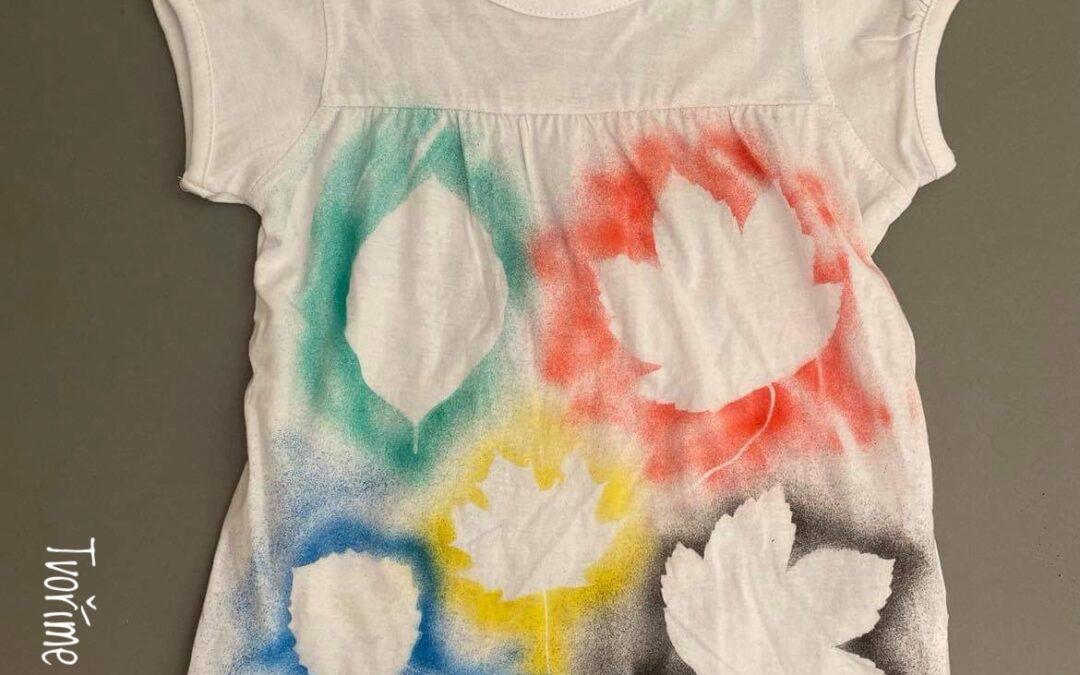 Podzimní tričko
